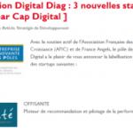 """Offisanté recoit le label """"Entreprise innovante"""" décerné par Cap Digital"""